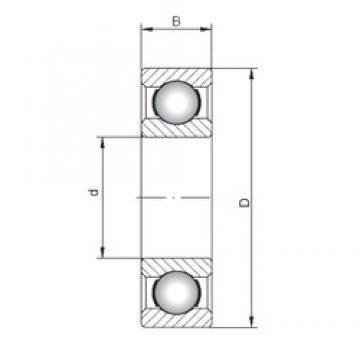ISO 6007 deep groove ball bearings