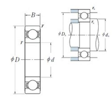 NSK 6824 deep groove ball bearings