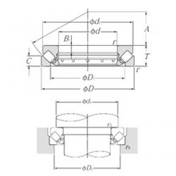 NTN 29352 thrust roller bearings