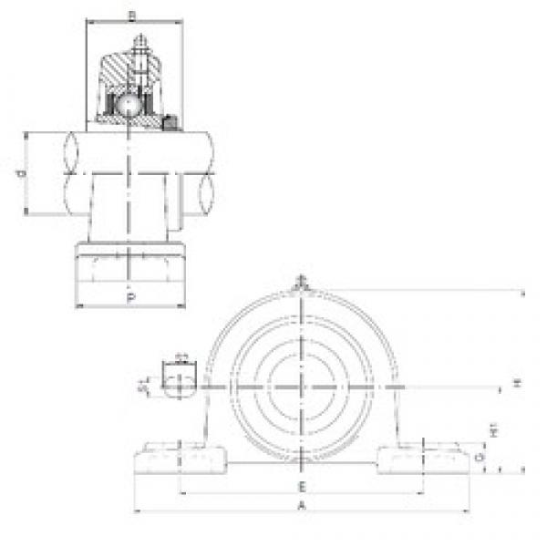 ISO UKP206 bearing units #2 image