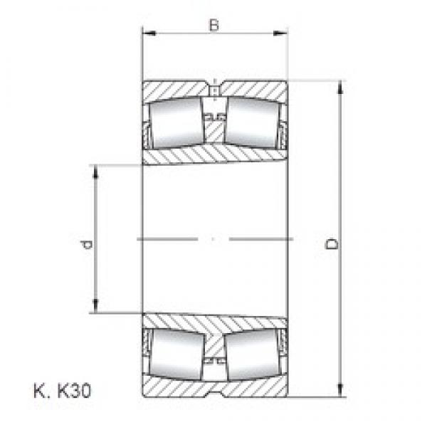 ISO 22330 KW33 spherical roller bearings #2 image