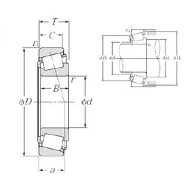 NTN 4T-LM78349A/LM78310A tapered roller bearings #2 image